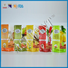 more color printing on bag for soup bases packaging bag/custom logo resealable silver ziplock foil food bag