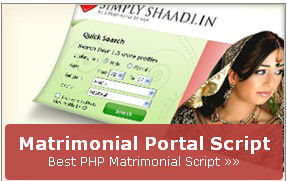 Matrimony Website Script, Dating, Matchmaking Software India, Matrimonial PHP