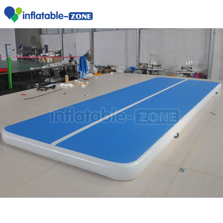 Sport games gym mat inflatable air tumble track ,folding gymnastics air mat,inflatable air track
