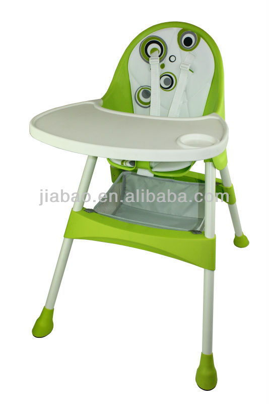 baby high chair and high table outdoor furniture (EN14988)baby product& baby high chair