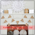 Hot sale paper Pennant Flag Bunting For party Hanging Decoration
