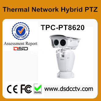 IP66 Auto Tracking Speed Dome TPC-PT8620 Dahua Fire Dtetec and Alarm PTZ
