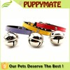 SImple Design Wholesale Soft Leather pet dog Collar With Bell