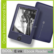 Fashion cheap well-known brand onyx boox E-INK carta screen ebook reader 6 inch D67