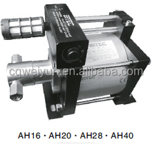 Stainless Steel Air Driven High Pressure Liquid Pump Hydro Booster System