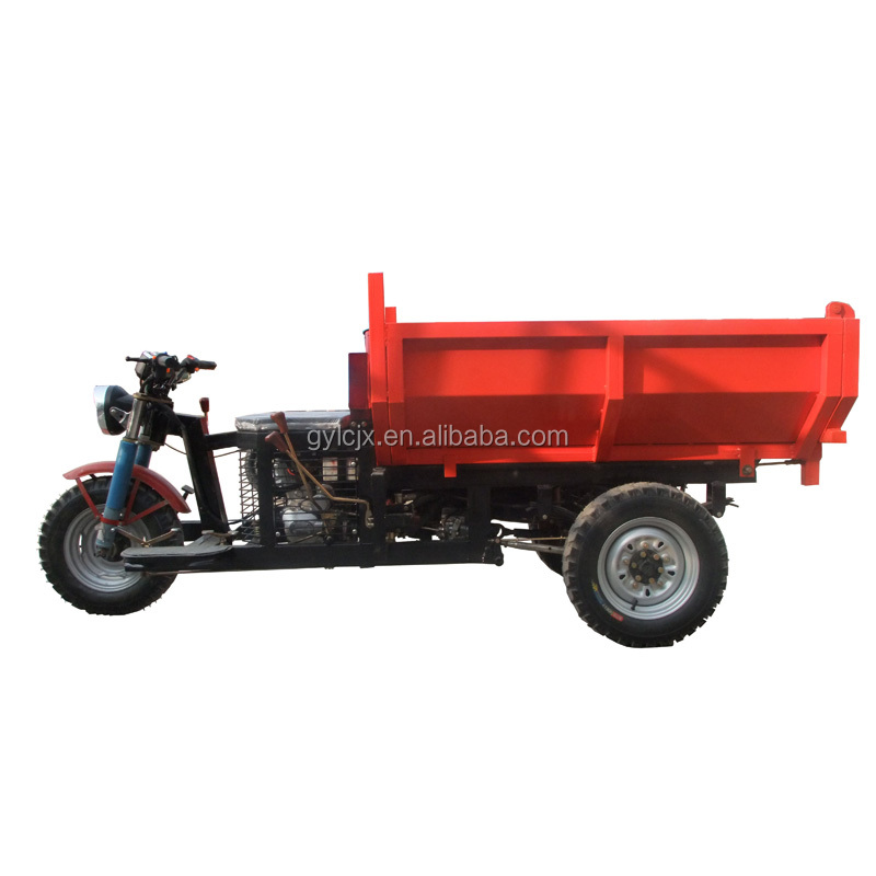 Licheng big tricycle with hydraulic/popular tricycle with hydraulic