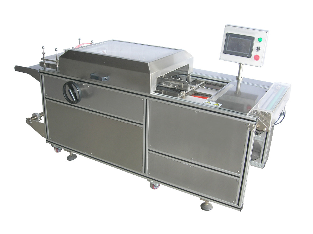 manual overwrapping machine for cosmetics