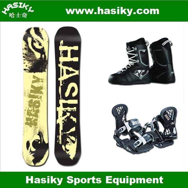 2014 Jingrui Hasiky Cheap Wooden LED Snowboard Factory and Supplier