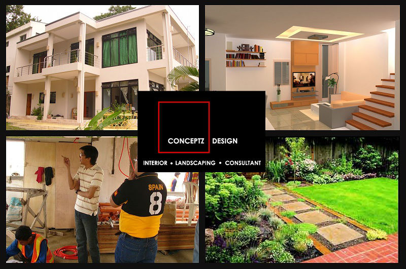 Interior design, Landscaping, Consultant by Conceptz Design