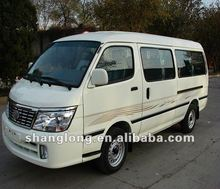 Chinese Manufacturers Left/Right Hand Drive 15 Seater Gasoline Mini Van