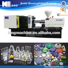 Drink bottle preform/cap injection making machine