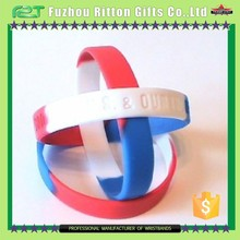Popular rubber wristbands,branded wristbands
