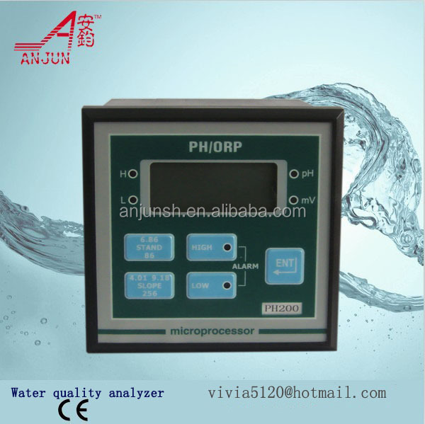 upper and lower limit alarm PH controller with 4-20mA output/PH sensor/PH probe/low cost PH electrode