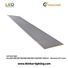 Enivronmental ultra-thin recessed ceiling square led lamp panel light 40W 600x600