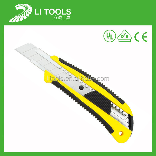 High quality utility cutter knife 18mm multi functional Sliding Blade