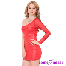 Low MOQ Custom Two Color Sexy Beautiful Lady Dress Fashion Thailand