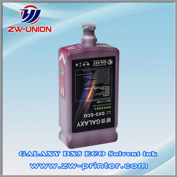 Digital printing eco solvent ink for GALAXY DX5