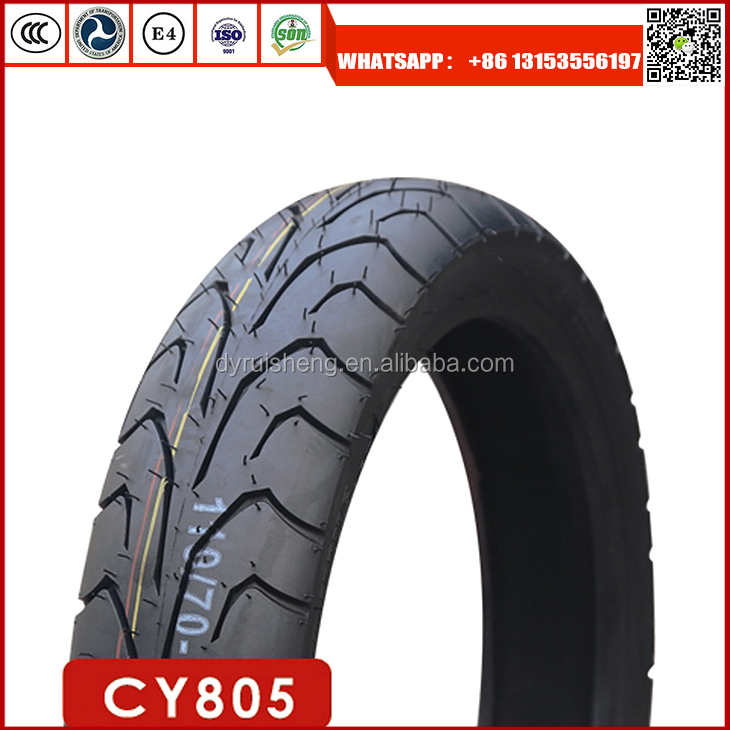 High quality motorcycle tyre 110/70-17 with high natural rubber rate tires motorcycles