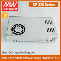 320W 24V 13A Power Supply With PFC Function SP-320-24 Meanwell DC Regulated Power Supply