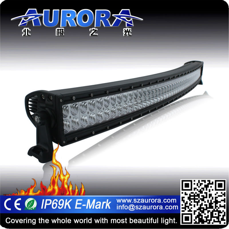 factory price led headlights curved 50'' led off road truck radiance LED bars