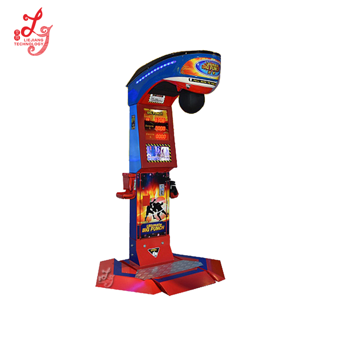 LJTR10 coin operated cheapindoor arcade amusement training boxing punch vending ultimate big punch games machines for sale