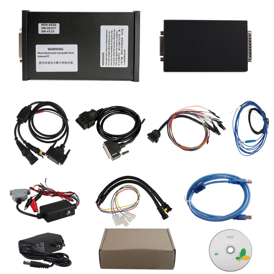 2017 IN STOCK V2.23 KESS V2 V5.017 Manager ECU Tuning Kit Master Version No Token Limitation for Both Car and Trucks