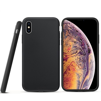Anti Scratch Mobile Back Cover Frosted TPU Phone Case For iPhone XR/XS Max