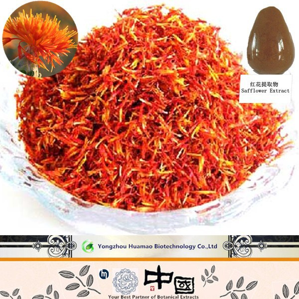 natural yellow pigment//medicinal herb// Safflower Extract Manufacturer