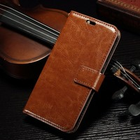 Premium Flip Cover PU Leather Case for Alcatel POP C7.for POP C7 Stand Wallet Case