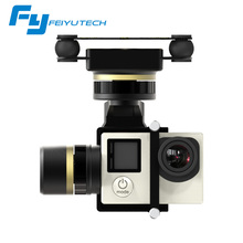 Feiyu FY Mini 3D Pro 3 Axis Brushless Aircraft Gimbal for Helicopters with 360 Degree Panning for Go Pro