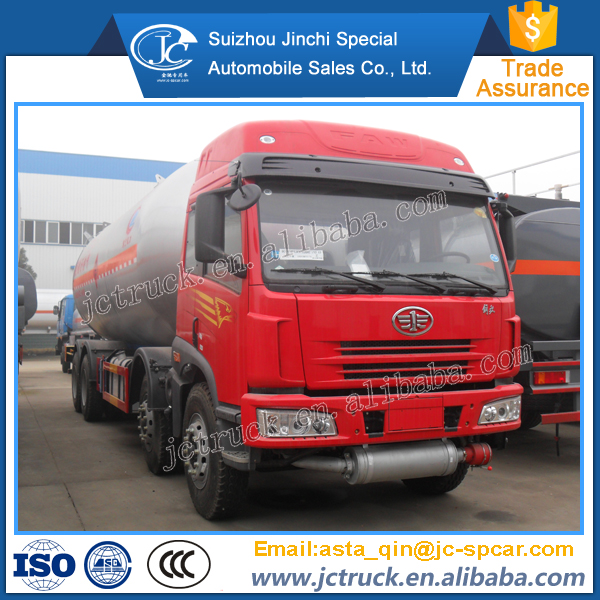 Diesel engine and Manual transmission Type customized volume of lpg road tank truck preferential price