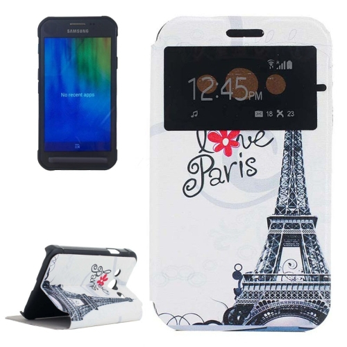 Alibaba New Products Flip Leather Case Cover for Samsung Galaxy Xcover 3 Case