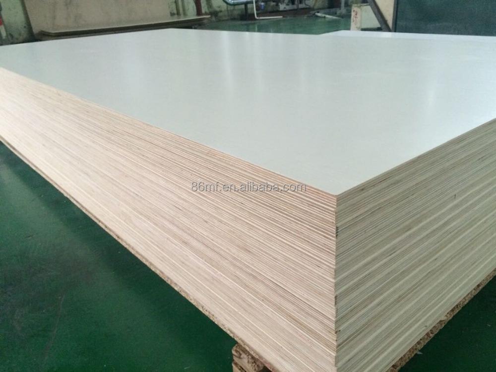 High quality mm double sided melamine laminated plywood