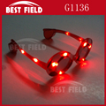 football 4pcs color flashing LED glasses