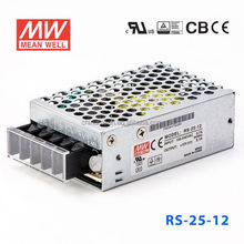 RS-25-12 25.2W No load consumption<0.5W AC-DC Single Meanwell Switch 12v 2a Power Supply