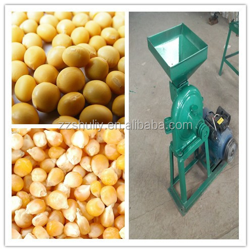 Hot Sale Portable Rice Crushing Machine/Corn Crusher/Sorghum Grinder