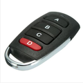 Rolling code garage door remote control YET084