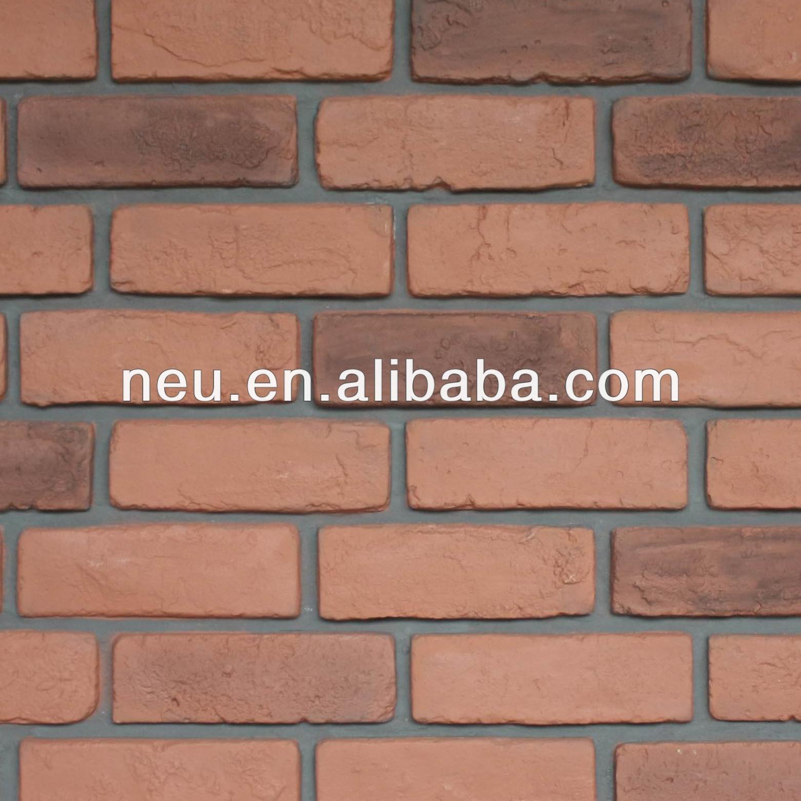 Brick wall panel - Pu Wall Panel Archaized Brick Panel Plastic Stone Wall Mixed Color Plastic Wall Red Brick Wall Buy Decorative Stone Wall Panels Fake Brick Wall Brick