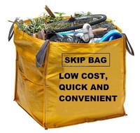 1m3 yellow polypropylene garbage jumbo bags pp skip bags