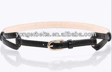 2013 Fashion Dress Accessories Fancy Pu Leather Belt For Ladies