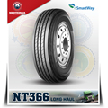 Chinese famous brand Neoterra bus and truck tyre NT366 11R24.5 trailer tire