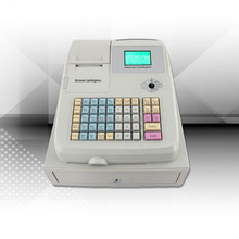 restaurant equipment electronic cash register with cash drawer