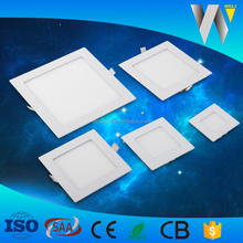 SMD chip 15w led panel light square ultra thin mounted isolated driver