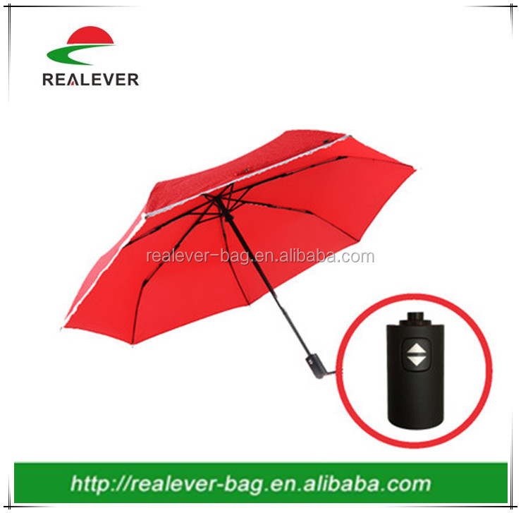 7ribs auto open and close UV protection mini3 folding umbrella