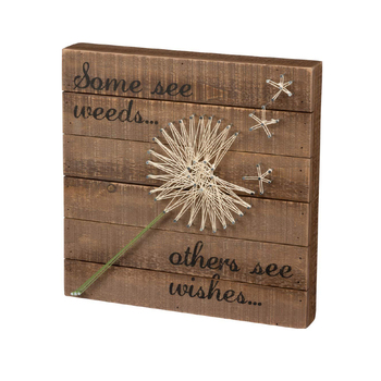 Wooden  decorative String Art Box Sign  home decoration