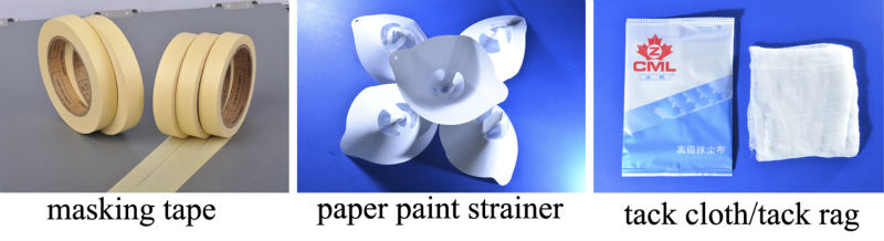 Guangzhou manufacturer white painting protection masking paper