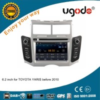 For Toyo-ta Yaris 2005-2010 Android 4.4.4 car dvd gps navigation system