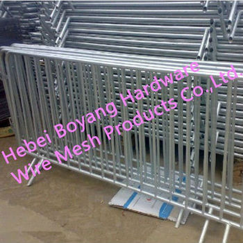 Galvanized Used Crowd Control Barrier ( Anping Factory )