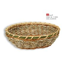 wicker basket, fern basket