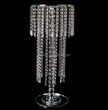 Crystal flower stand centerpiece for wedding or party decoration